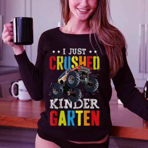 Funny I Just Crushed Kinder garten Monster Truck shirt 3 1 510x510 - Funny I Just Crushed Kinder garten Monster Truck shirt