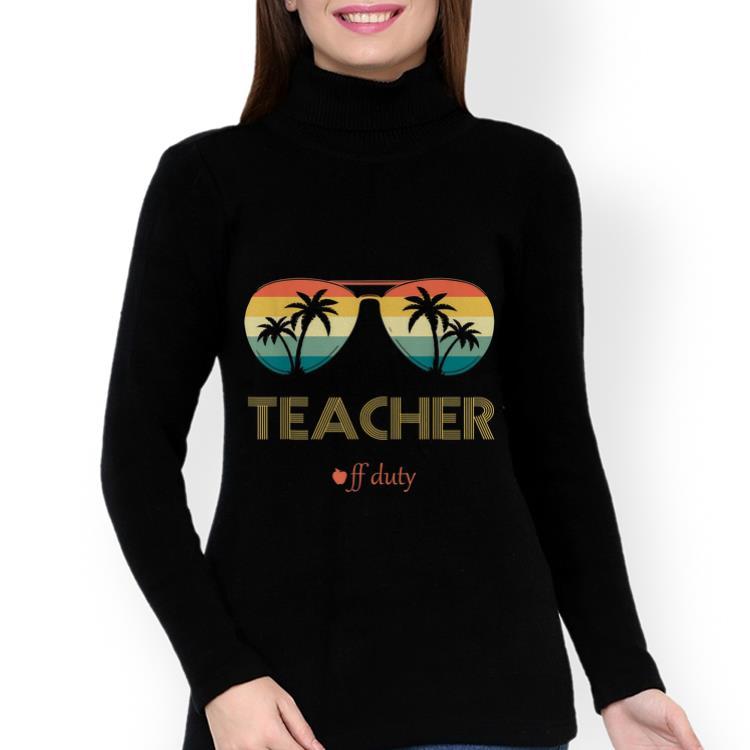 a11702c204 Funny Summer Teacher Off Duty Glass Vintage shirt 3 1 510x510 - Funny  Summer Teacher Off