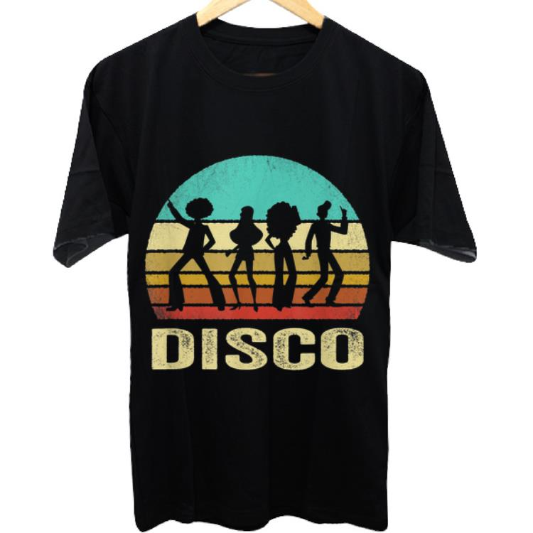 Funny Vintage Disco Sunset shirt