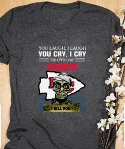 Hot Jeff Dunham you laugh i laugh you offend my Kansas City Chiefs i kill you shirt 1 1 247x296 - Hot Jeff Dunham you laugh i laugh you offend my Kansas City Chiefs i kill you shirt