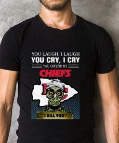 Hot Jeff Dunham you laugh i laugh you offend my Kansas City Chiefs i kill you shirt 2 1 247x296 - Hot Jeff Dunham you laugh i laugh you offend my Kansas City Chiefs i kill you shirt