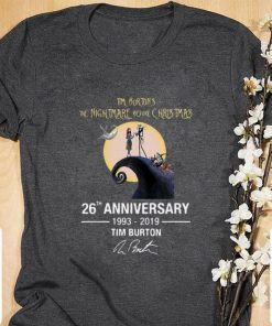 Hot Tim Burton s the nightmare before Christmas 26th anniversary shirt 1 1 247x296 - Hot Tim Burton's the nightmare before Christmas 26th anniversary shirt