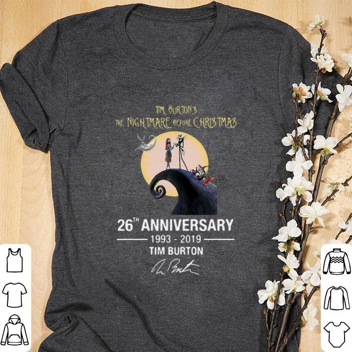 8f1f55f7 Hot Tim Burton s the nightmare before Christmas 26th anniversary shirt 1 1  510x510 - Hot