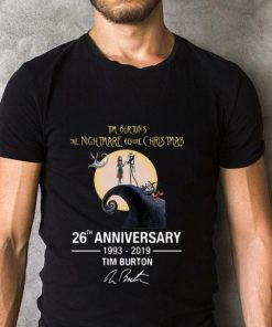 Hot Tim Burton s the nightmare before Christmas 26th anniversary shirt 2 1 247x296 - Hot Tim Burton's the nightmare before Christmas 26th anniversary shirt