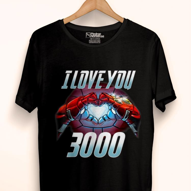 I Love You 3000 Iron man Arc Reactor shirt