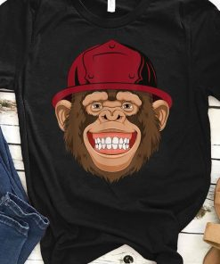 Monkey Firefighter With Red Fireman Helmet shirt 1 1 247x296 - Monkey Firefighter With Red Fireman Helmet shirt