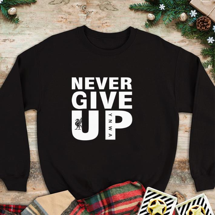Nice Mohamed Salah Never give up shirt