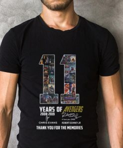 Official 11 years of Avengers signatures thank you for the memories shirt 2 1 247x296 - Official 11 years of Avengers signatures thank you for the memories shirt