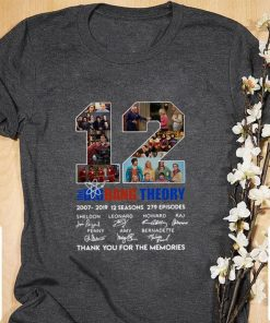 Official 12 the Big Bang Theory signatures thank you for the memories shirt 1 1 247x296 - Official 12 the Big Bang Theory signatures thank you for the memories shirt
