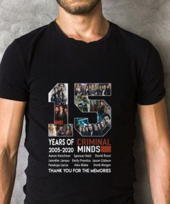 Official 15 years of Criminal Minds 2005 2020 thank you for the memories shirt 2 1 247x296 - Official 15 years of Criminal Minds 2005-2020 thank you for the memories shirt