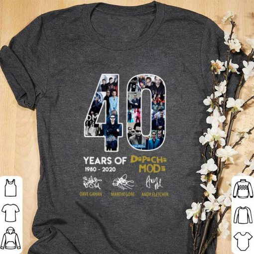 Official 40 years of 1980 2020 Depeche Mode signatures shirt 1 2 1 510x510 - Official 40 years of 1980-2020 Depeche Mode signatures shirt