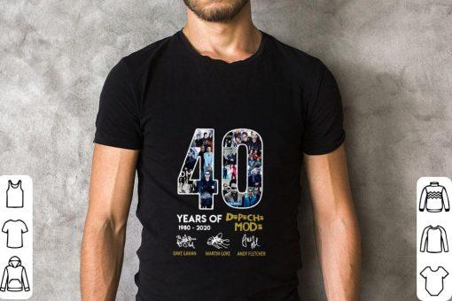 Official 40 years of 1980 2020 Depeche Mode signatures shirt 2 2 1 510x340 - Official 40 years of 1980-2020 Depeche Mode signatures shirt