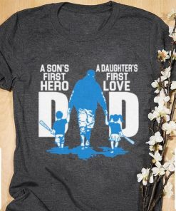 Official A son s first hero dad a daughter s first love shirt 1 1 247x296 - Official A son's first hero dad a daughter's first love shirt