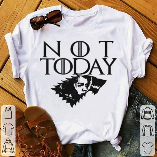 Official Arya Not Today Game of Thrones wolf House Stark shirt 1 1 510x510 - Official Arya Not Today Game of Thrones wolf House Stark shirt