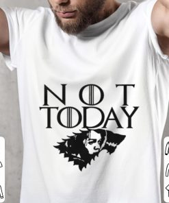 Official Arya Not Today Game of Thrones wolf House Stark shirt 2 1 247x296 - Official Arya Not Today Game of Thrones wolf House Stark shirt