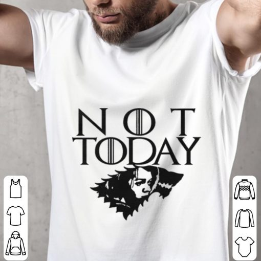 Official Arya Not Today Game of Thrones wolf House Stark shirt 2 1 510x510 - Official Arya Not Today Game of Thrones wolf House Stark shirt