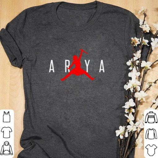 Official Arya Stark Jumpman Game of Thrones shirt 1 1 510x510 - Official Arya Stark Jumpman Game of Thrones shirt