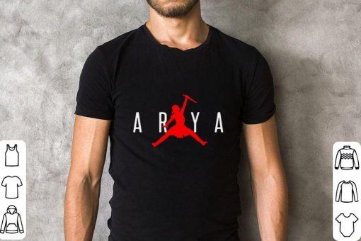 Official Arya Stark Jumpman Game of Thrones shirt 2 1 510x340 - Official Arya Stark Jumpman Game of Thrones shirt