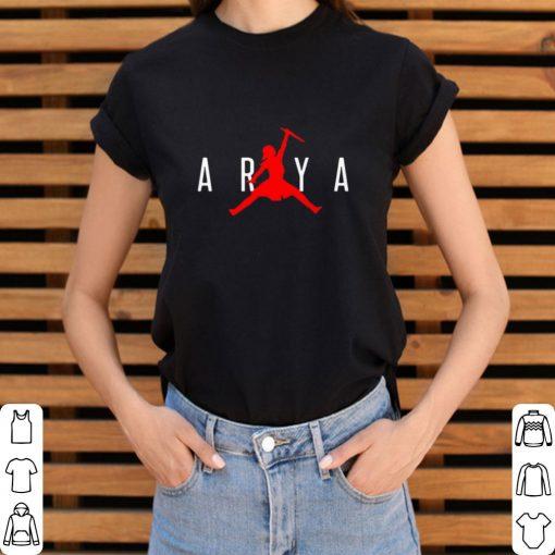 Official Arya Stark Jumpman Game of Thrones shirt 3 1 510x510 - Official Arya Stark Jumpman Game of Thrones shirt