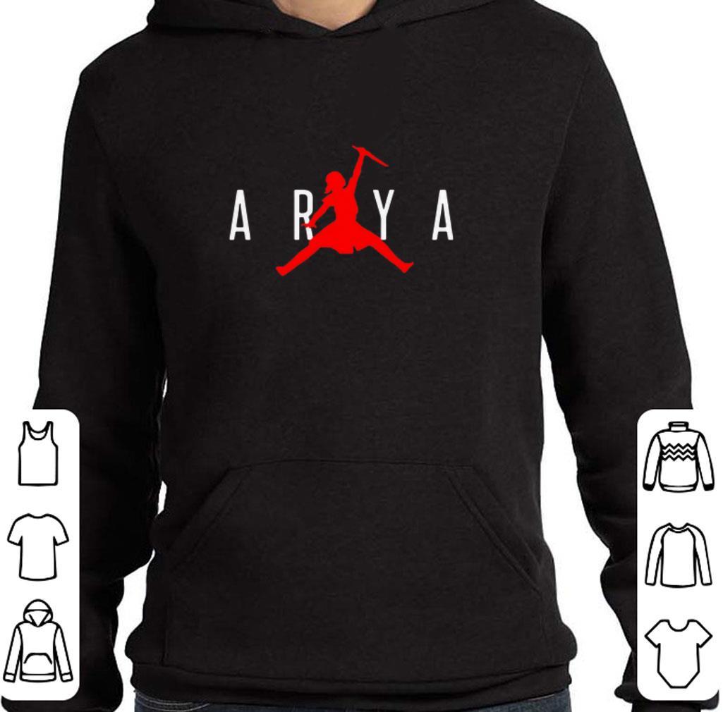 Official Arya Stark Jumpman Game of Thrones shirt