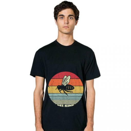 Official Bee kind Sunset Retro Shirt 2 1 510x510 - Official Bee kind Sunset Retro Shirt