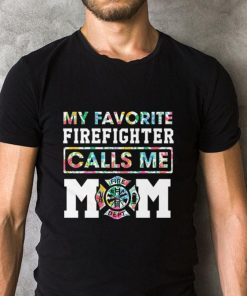 Official Flowers My favorite Firefighter calls me mom shirt 2 1 247x296 - Official Flowers My favorite Firefighter calls me mom shirt