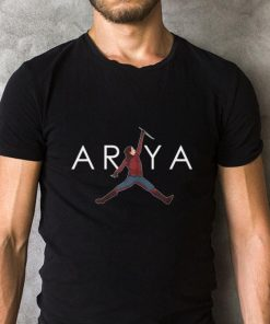 Official Game Of Thrones Arya Stark Jumpman shirt 2 1 1 247x296 - Official Game Of Thrones Arya Stark Jumpman shirt