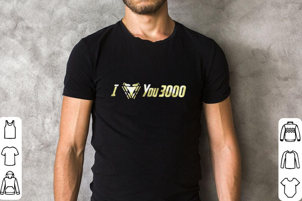 bf0da0976 Official I Love You 3000 Dad and Daughter Iron Man Arc reactor shirt 2 1  510x340