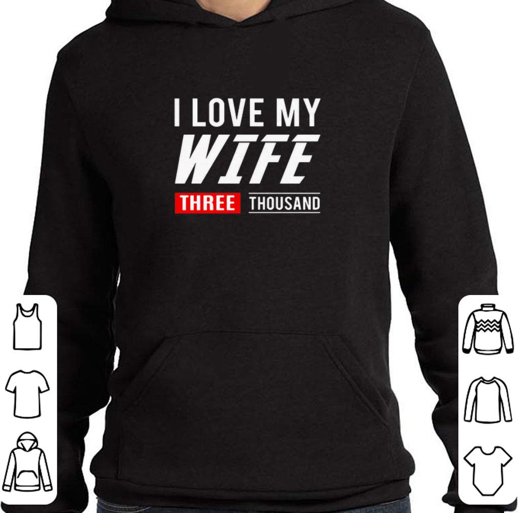 Official I love my wife three thousand Marvel Studios shirt