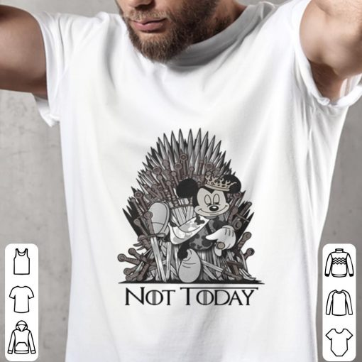 Official Mickey mouse King Not Today Game of Thrones shirt 2 1 510x510 - Official Mickey mouse King Not Today Game of Thrones shirt