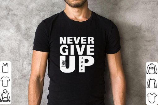 Official Mohamed Salah Never give up FC Liverpool shirt 2 1 510x340 - Official Mohamed Salah Never give up FC Liverpool shirt
