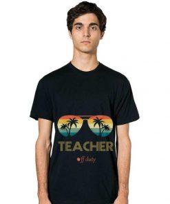 Official Summer Teacher Off Duty Glass Vintage Shirt 2 1 247x296 - Official Summer Teacher Off Duty Glass Vintage Shirt