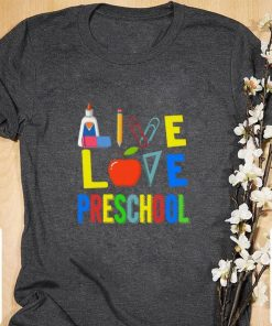 Official Teacher Apple Live love preschool shirt 1 1 247x296 - Official Teacher Apple Live love preschool shirt