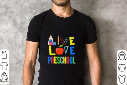 Official Teacher Apple Live love preschool shirt 2 1 510x340 - Official Teacher Apple Live love preschool shirt