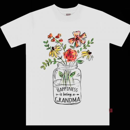 Original Happiness is being a Grandma Life Flower Art Mother day shirt 1 1 510x510 - Original Happiness is being a Grandma Life Flower Art Mother day shirt