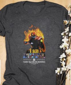 Original I Am Iron Man Thank You For The Memories Avengers Endgame shirt 1 2 247x296 - Original  I Am Iron Man Thank You For The Memories Avengers Endgame shirt