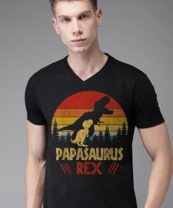 Papas Saurus T rex Dinosaur Fathers Day shirt 2 1 247x296 - Papas Saurus T-rex Dinosaur Fathers Day shirt