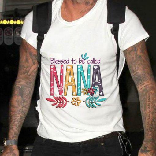 Premium Blessed To Be Called Nana Flower shirt 2 1 510x510 - Premium Blessed To Be Called Nana Flower shirt