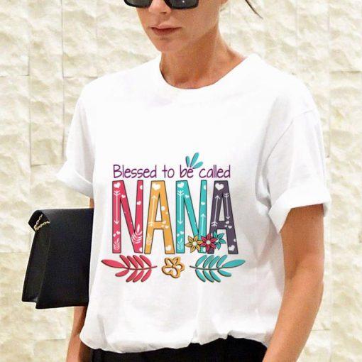 Premium Blessed To Be Called Nana Flower shirt 3 1 510x510 - Premium Blessed To Be Called Nana Flower shirt