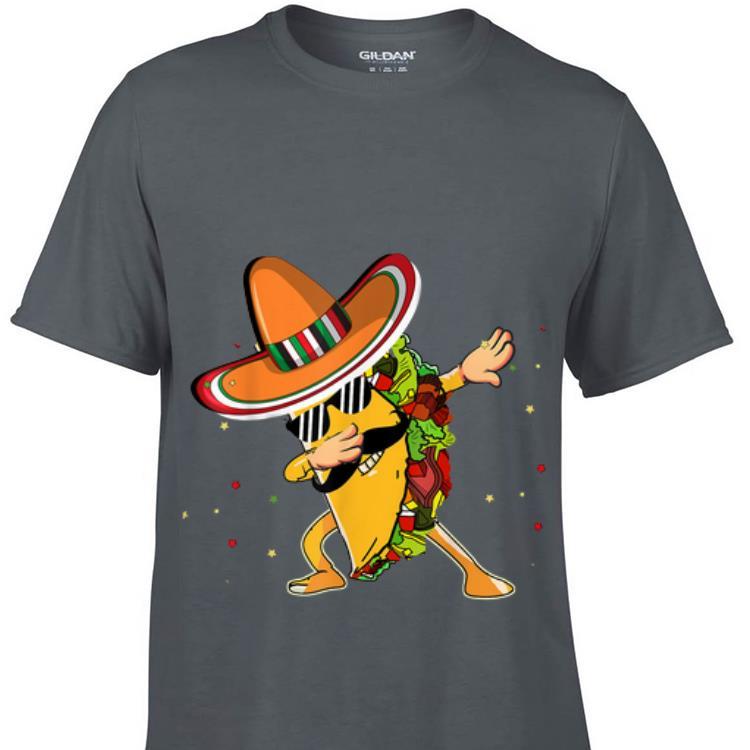 Premium Dabbing Taco Cinco De Mayo Mexico Latino shirt