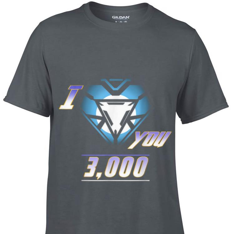 Premium Dad Iron I love you Arc reactor Father's Day shirt