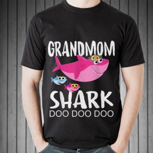 Premium Grandmom Shark doo doo doo Mother day shirt 2 1 510x510 - Premium Grandmom Shark doo doo doo Mother day shirt