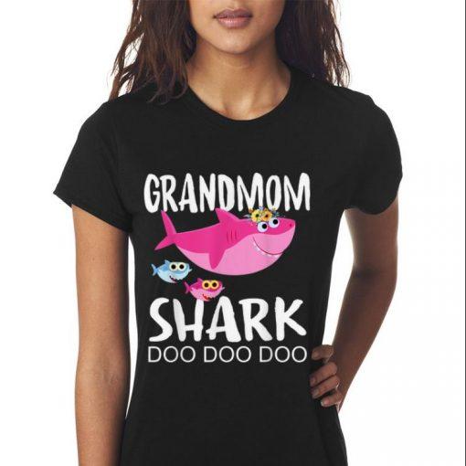 Premium Grandmom Shark doo doo doo Mother day shirt 3 1 510x510 - Premium Grandmom Shark doo doo doo Mother day shirt