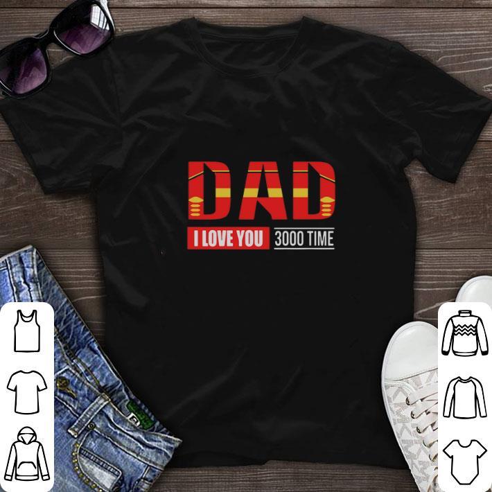ad681e992 Premium Iron Man Dad I Love You 3000 Time Avengers Endgame shirt 1 1 510x510  -