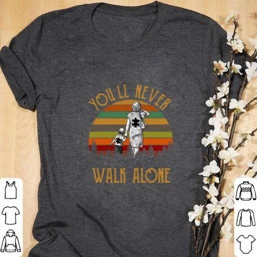 Premium Pieces Puzzle Mom and Me You ll never walk alone Sunset shirt 1 1 510x510 - Premium Pieces Puzzle Mom and Me You'll never walk alone Sunset shirt