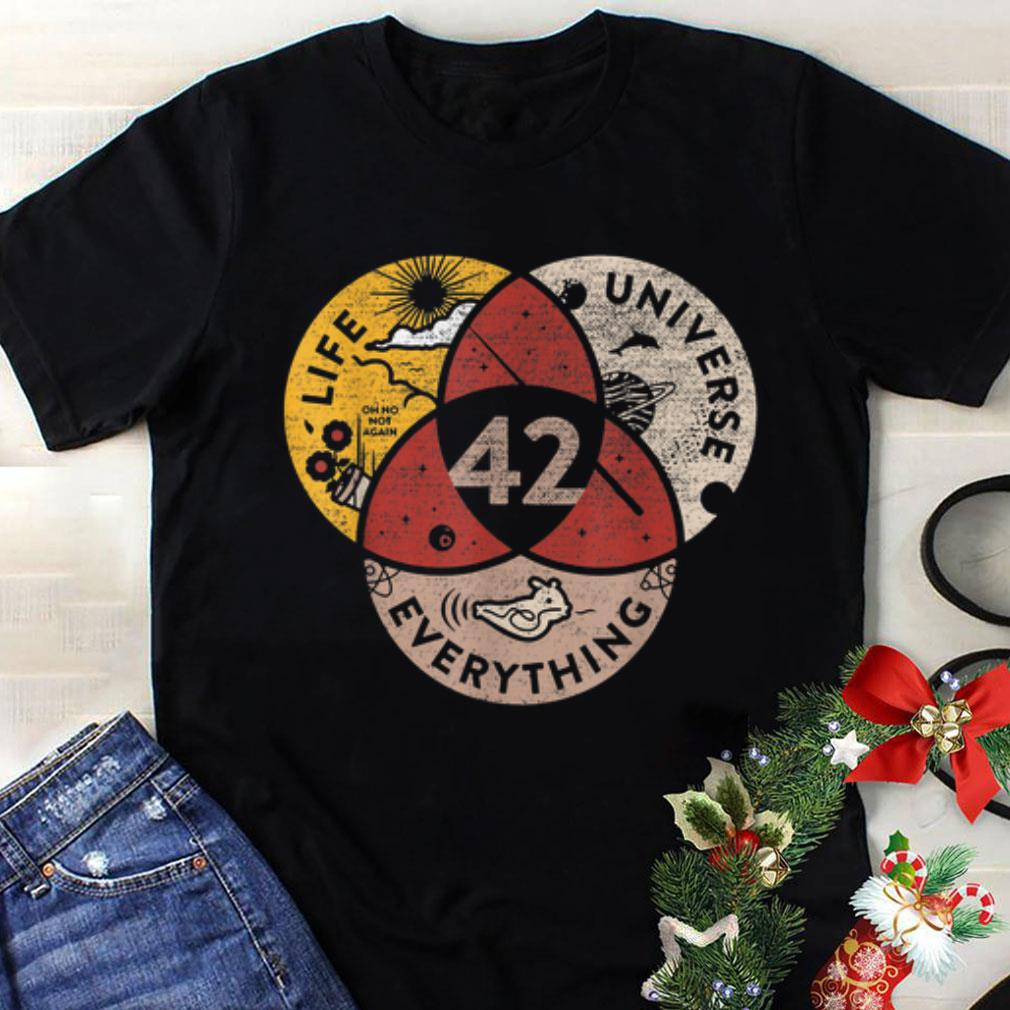 The best 42 The Answer to Life The Universe & Everything Galaxy shirt