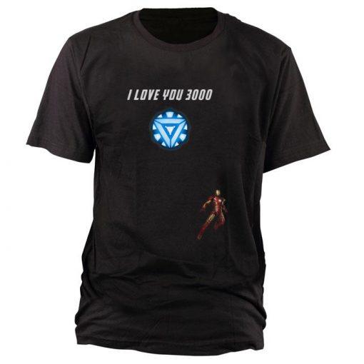Top Iron man Arc reactor I Love You 3000 End game Marvel shirt 1 1 510x510 - Top Iron man Arc reactor I Love You 3000 End game Marvel shirt