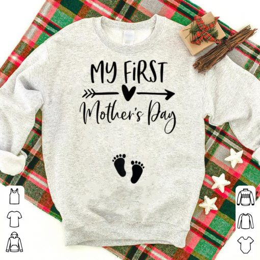 Top My First Mothers Day shirt 1 1 510x510 - Top My First Mothers Day shirt