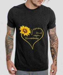 Top Sunflower Jesus it s not religion it s a relationship shirt 2 1 247x296 - Top Sunflower Jesus it's not religion it's a relationship shirt