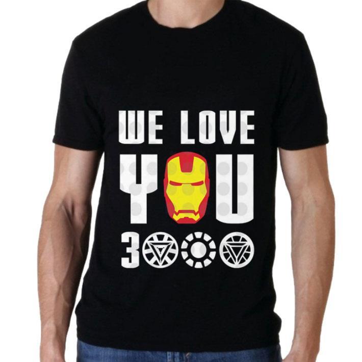 dda8cdd9e Top We Love You 3000 Iron Man Marvel Avengers Endgame shirt 2 1 510x510 -  Top